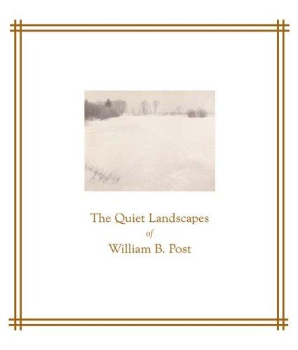 The Quiet Landscapes of William B. Post 9780816648115