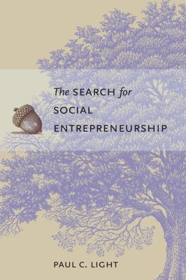 The Search for Social Entrepreneurship 9780815752103