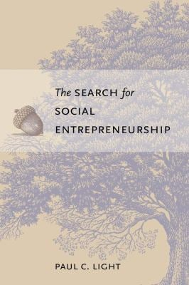 The Search for Social Entrepreneurship 9780815752110