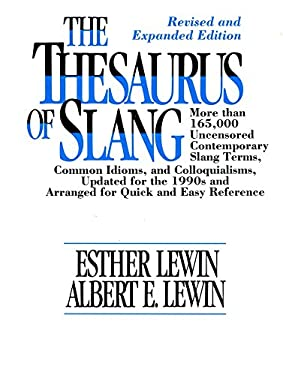 The Thesaurus of Slang 9780816028986