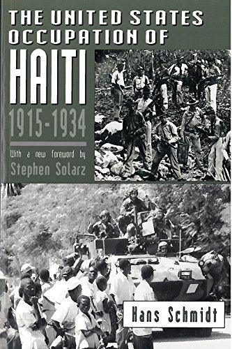 The United States Occupation of Haiti, 1915-1934 9780813522036