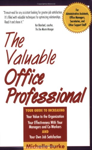 The Valuable Office Professional 9780814478882