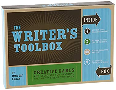 """The Writer's Toolbox: Creative Games and Exercises for Inspiring the """"Write"""" Side of Your Brain [With BookWith CardsWith Timer]"""
