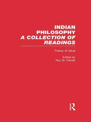 Theory of Value: Indian Philosophy 9780815336129