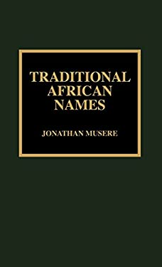 Traditional African Names 9780810836433