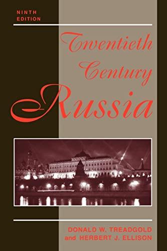 Twentieth Century Russia: Ninth Edition 9780813336725