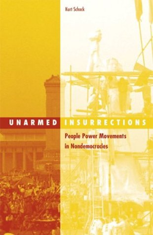 Unarmed Insurrections: People Power Movements in Nondemocracies 9780816641932