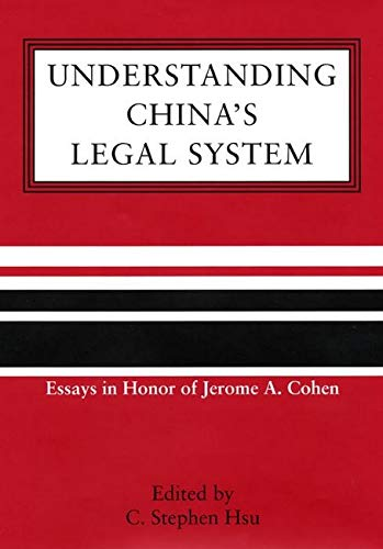 Understanding China's Legal System 9780814736531