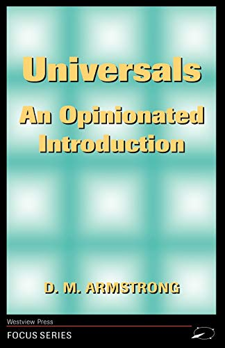 Universals: An Opinionated Introduction 9780813307725