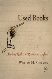 Used Books: Marking Readers in Renaissance England