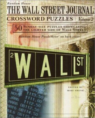 Wall Street Journal Crossword Puzzles, Volume 2 9780812934632