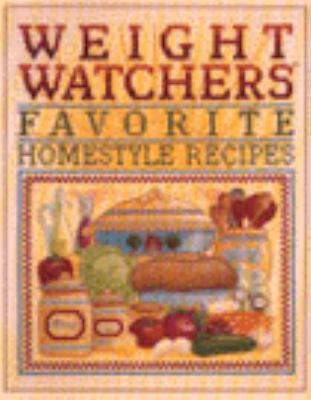 Weight Watchers Favorite Homestyle Recipes 9780816158263