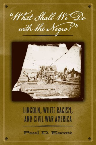 What Shall We Do with the Negro?: Lincoln, White Racism, and Civil War America 9780813927862