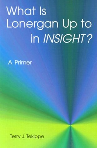 What is Lonergan Up to in Insight?: A Primer 9780814657829