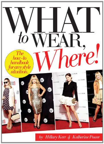 What to Wear, Where: The How-To Handbook for Any Style Situation 9780810997035