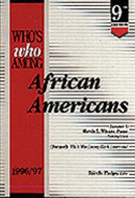 Who's Who Among African Americans, 1996-97 9780810357280