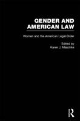 Women and the American Legal Order 9780815325154