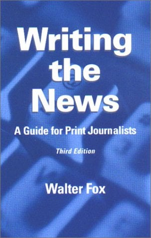 Writing the News 9780813822488