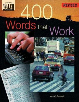 400 Words That Work: A Life Skills Vocabulary Program 9780825138867