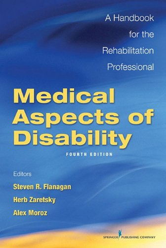 Medical Aspects of Disability: A Handbook for the Rehabilitation Professional 9780826127839