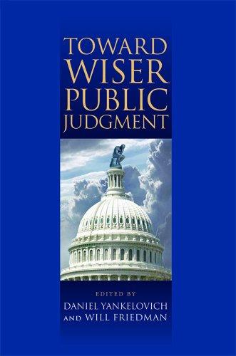 Toward Wiser Public Judgment 9780826517395