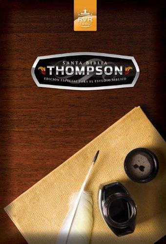 Santa Biblia Thompson Edicion-Rvr 1960