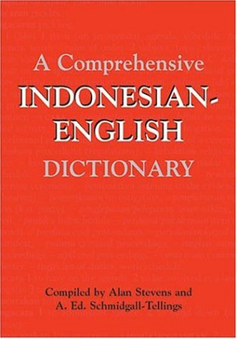 A Comprehensive Indonesian-English Dictionary 9780821415849