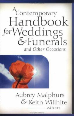 A Contemporary Handbook for Weddings & Funerals and Other Occasions 9780825431869
