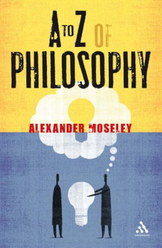 To Z of Philosophy 9780826499486