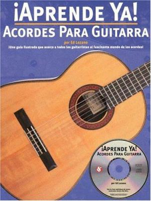 Acordes Para Guitarra [With CD] 9780825628450