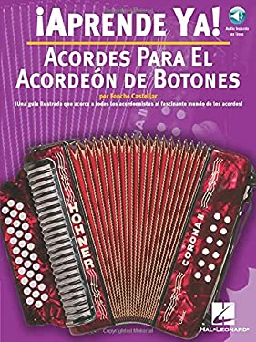 Acordes Para el Acordeon de Botones [With CD] 9780825628788