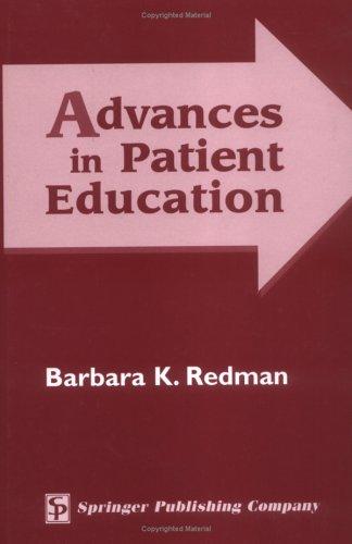 Advances in Patient Education 9780826127358