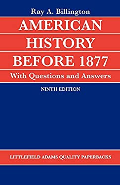 American History Before 1877 with Questions and Answers 9780822600268
