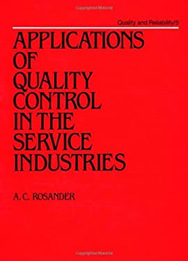 Applications of Quality Control in the Service Industries 9780824774660