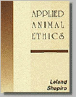 Applied Animal Ethics 9780827384941