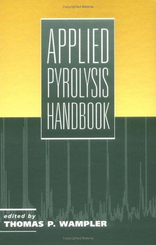 Applied Pyrolysis Handbook 9780824794460
