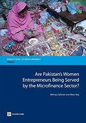 Are Pakistan's Women Entrepreneurs Being Served by the Microfinance Sector? 21112478