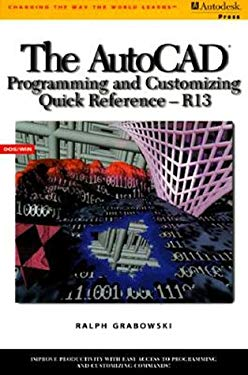 AutoCAD Programming/Customizing Quick Reference 9780827379916