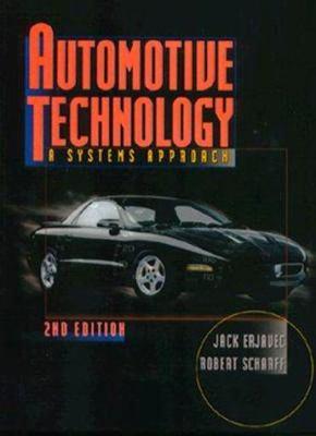Automotive Technology: A Systems Approach 9780827367241