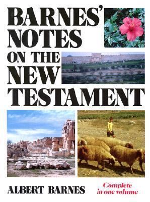 Barnes' Notes on the New Testament 9780825422003