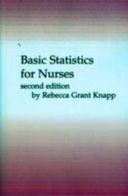 Basic Statistics for Nurses 9780827342712