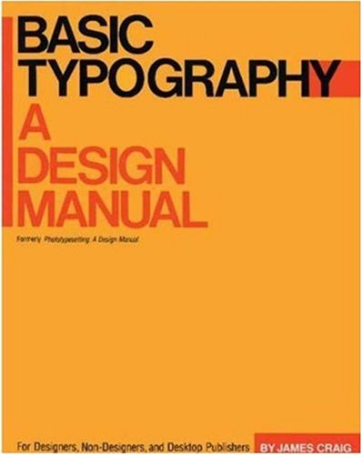 Basic Typography: A Design Manual 9780823004515