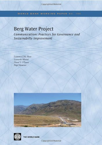 Berg Water Project: Communication Practices for Governance and Sustainability Improvement 9780821384145