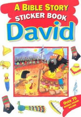Bible Story Sticker Book: David 9780825472190