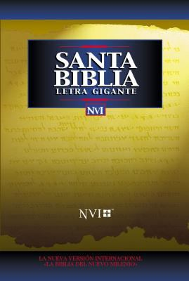 NVI Santa Biblia Letra Gigante, Tapa Dura 9780829737066