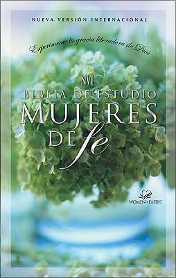 NVI Biblia de Estudio Mujeres de Fe, Tapa Dura de Colores 9780829736861