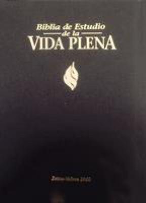 Rvr 1960 Biblia de Estudio Vida Plena, Tapa Dura = Full Life Study Bible-RV 1960 9780829719802