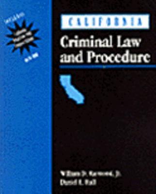 California Criminal Law and Procedure 9780827379404