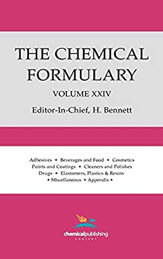 The Chemical Formulary, Volume 24 9780820602912