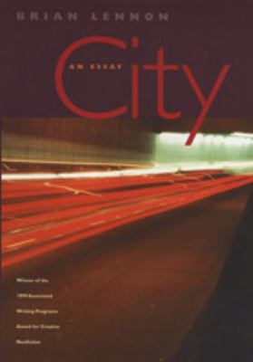 City: An Essay 9780820323213
